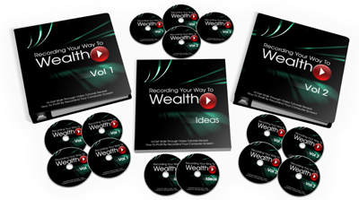 Recording Your Way To Wealth Home Based Business Internet Marketing Make Money Small Busienss Online Course