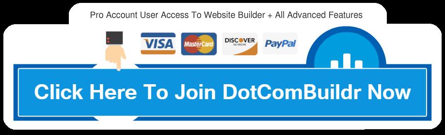 DotComBuildr - Beautiful Website Builder + Unlimited Websites